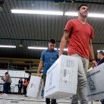 Traslado de material electoral avanza en un 70%