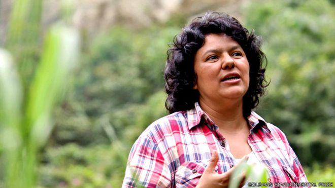 UE pide respetar derechos en juicio por asesinato de ambientalista Cáceres