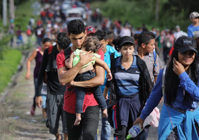 Caravanas migrantes son producto de la corrupción e impunidad en el país: CCIT