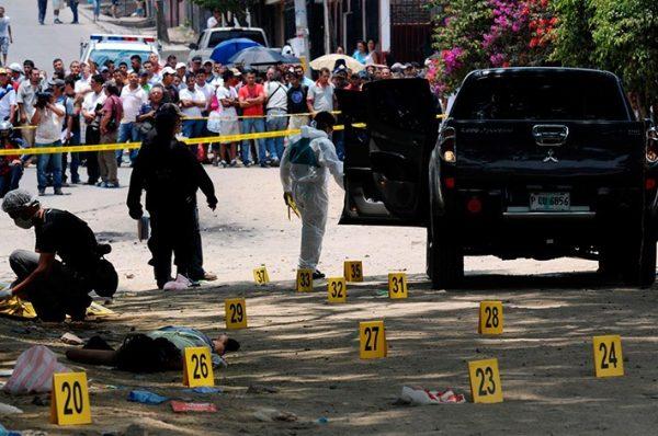 Honduras alcanzó un promedio de 10 víctimas diarias por homicidios, según OV-UNAH