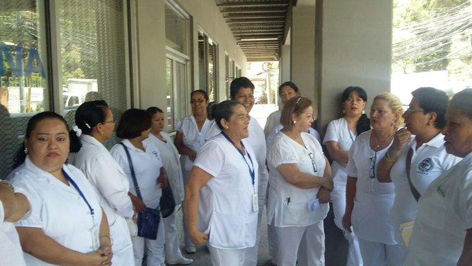 Enfermeras de Atlántida y Occidente intensificarán acciones de protestas