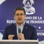 """""""Confirmamos nuestra firme voluntad en lucha contra la corrupción"""": Presidente Hernández"""