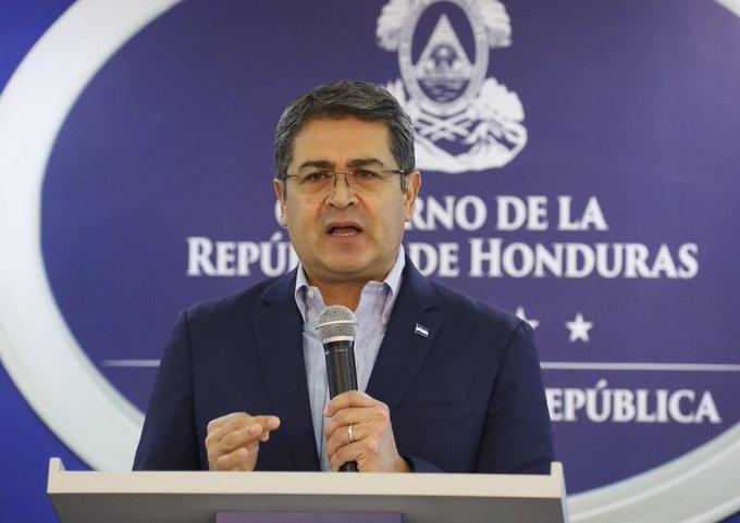 """""""La conspiración es clara entre criminales confesos"""": Presidente Hernández"""