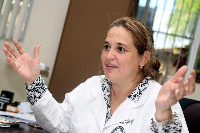 Despiden a ex directora de Medicina Forense Julissa Villanueva