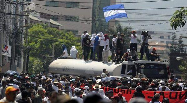 Conadeh advierte que un golpe de Estado a quien más afecta es al pueblo