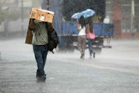 Onda tropical dejará lluvias en la mayor parte del territorio