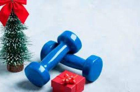 Mantente en forma en esta Navidad