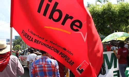 Libre anuncia protestas si no se logran acuerdos en las reformas electorales