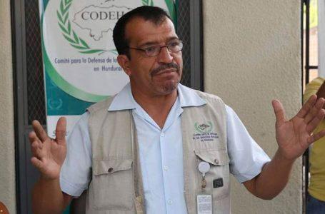 """Presidente del Codeh recuerda a EEUU que en Honduras hay """"más corruptos"""""""