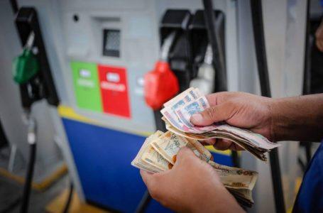Gasolinas registrarán una leve rebaja en su precio a partir de este lunes