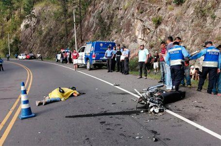 DNVT registró unas 557 muertes en motocicleta durante 2019