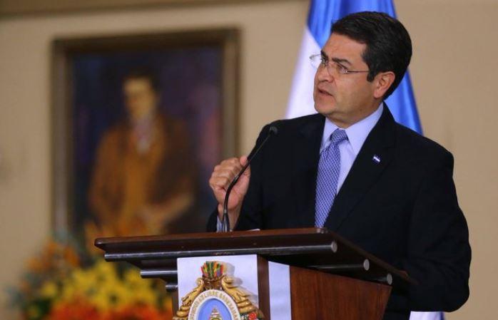 Presidente Hernández pide hacer frente al coronavirus y defender la justicia social
