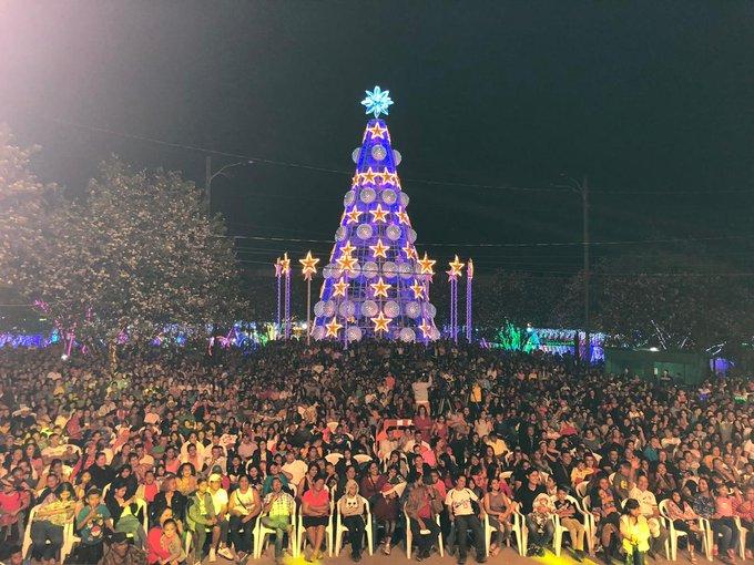 Villa Navideña de Tegucigalpa logra récord de más de 36 mil visitantes el 1 de enero