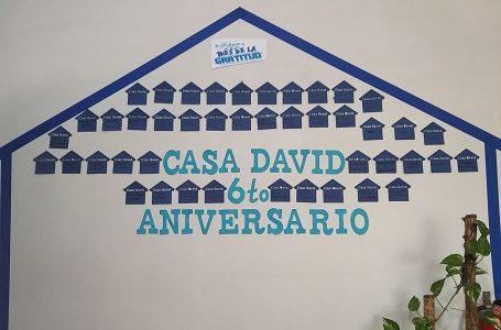 """Casa David celebra sexto aniversario; pide no olvidarse del """"pedacito de cielo"""""""