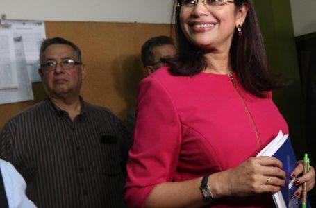 Rixi Moncada asume por ley la presidencia del CNE, ante ausencia de Ana Paola Hall
