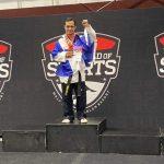 Guillermo Erazo baña en oro a Honduras en el Máster Junior de Taekwondo