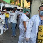 Sector salud amenaza con paro de labores si el Gobierno no cumple sus demandas