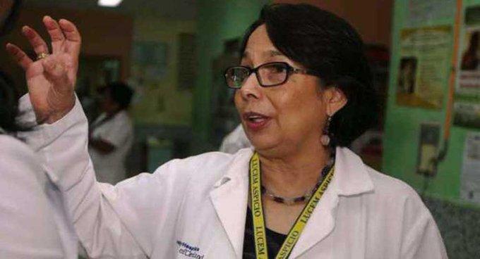 Exministra de Salud es hospitalizada por coronavirus