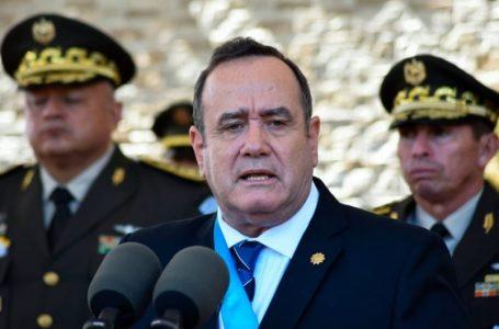 Presidente de Guatemala sugiere que el país retome la pena de muerte