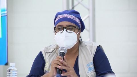 El CMH tiene recursos millonarios para inmunizar contra COVID a agremiados: Karla Pavón