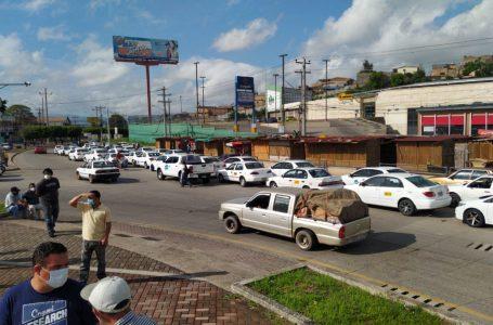 """Unos 140 taxistas fallecidos por Covid; """"vamos ir a buscar la vacuna en caravana a El Salvador"""""""