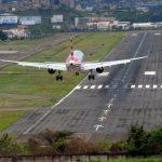 Aeropuertos operarán el domingo únicamente para vuelos nacionales