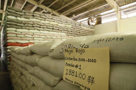 Reserva estratégica de granos básicos suma 284 mil quintales