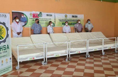 FUNAZUCAR entrega equipo e insumos médicos a municipalidades de Cortés