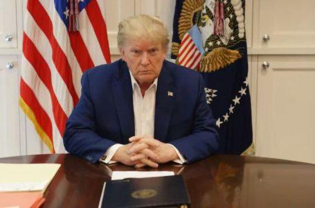 """""""Empiezo a sentirme bien, la verdadera prueba será en los próximos días"""": Donald Trump"""