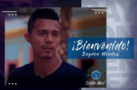 Byron Méndez es anunciado como nuevo jugador de Motagua