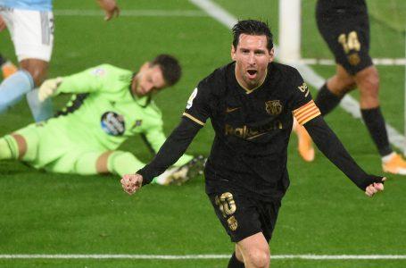 Barcelona derrotó al Celta de Vigo gracias al brillo de Ansu Fati y Lionel Messi