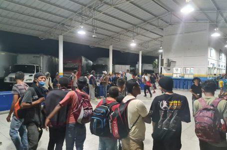 Control Biométrico confirma que 704 migrantes hondureños han regresado voluntariamente
