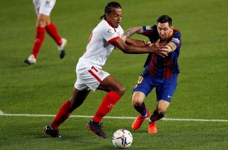 Barcelona no pudo ante el Sevilla y rescata un empate en el Camp Nou