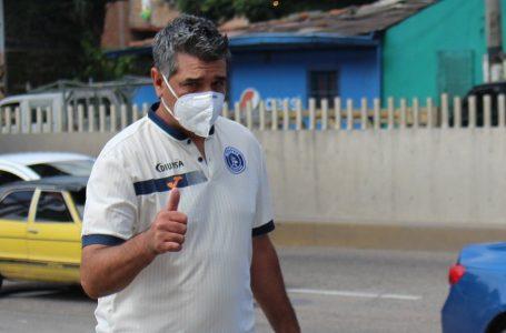 Diego Vásquez enfocado en el duelo ante la UPNFM, con el que arranca el torneo