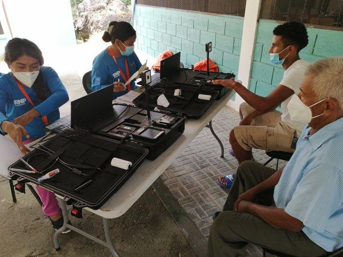 Al menos 2.7 millones de hondureños han realizado el enrolamento según el RNP