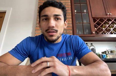 """«El 17 de octubre voy a ganar todos los títulos para mi gente enHonduras"""": Teófimo"""