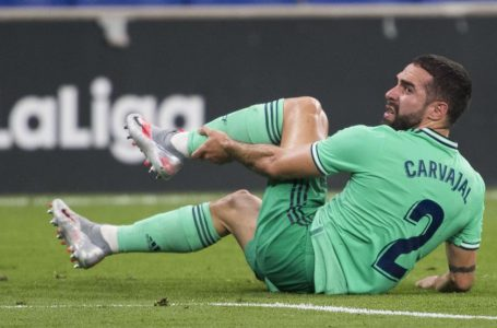 Carvajal se lesiona la rodilla y estará dos meses de baja en Real Madrid