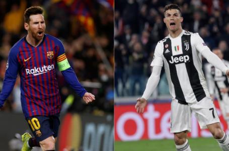 Messi y Cristiano Ronaldo se verán las caras nuevamente en Champions League