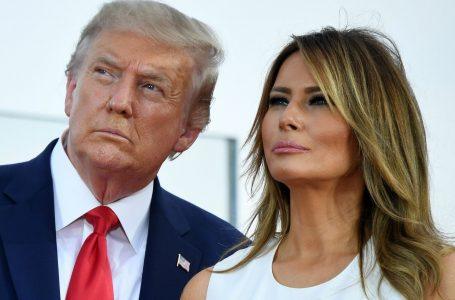 Trump y Melania dan positivo por coronavirus y suspenden actos de campaña