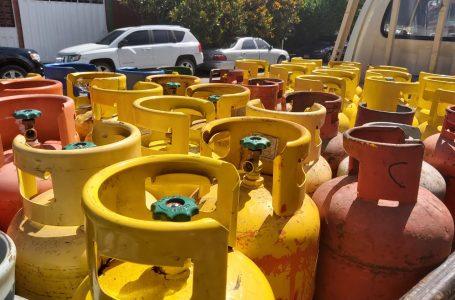 Cilindro de gas LPG de 25 libras mantendrá su precio en junio