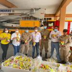 Donan más de 25,000 vasos de leche a afectados por las tormentas tropicales
