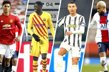 Eufórica jornada de Champions: Barcelona, Juventus, PSG y Chelsea triunfan