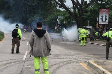 Violento desalojo deja caos, un muerto y varios heridos en Río Blanco, SPS