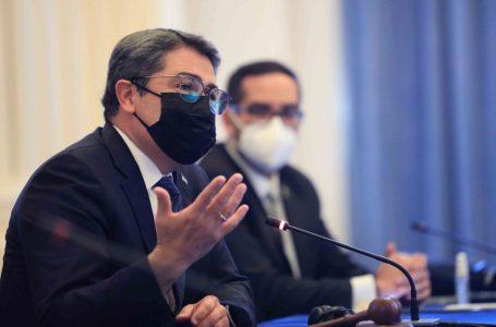 Presidente Hernández expone en Washington a bancos multilaterales los daños de Eta y Iota