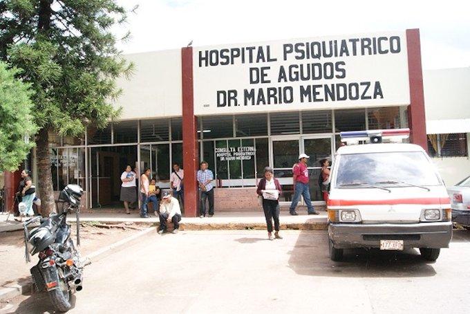 Hospital psiquiátrico Mario Mendoza suspenden consulta externa