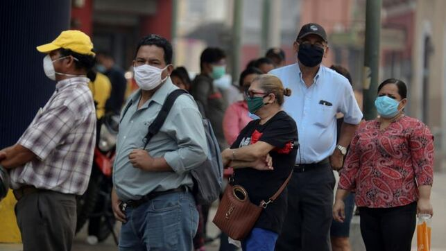 En Tegucigalpa sólo el 50% de la población anda usando las medidas de bioseguridad