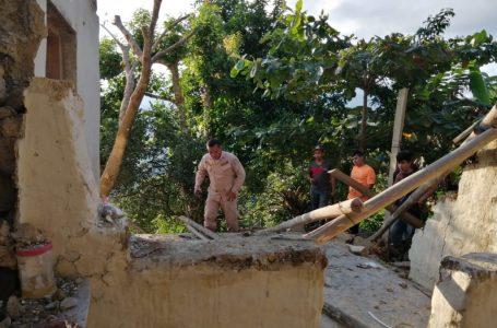 Centenares de evacuados por enorme falla geológica en Macuelizo, Santa Bárbara