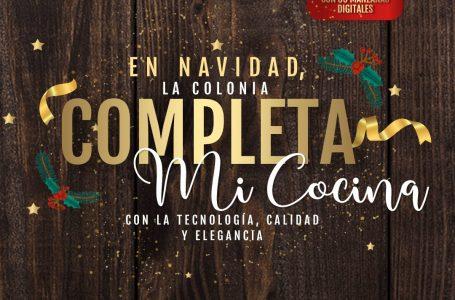 Supermercados La Colonia con la nueva colección de piezas Percutti Legno para cocina