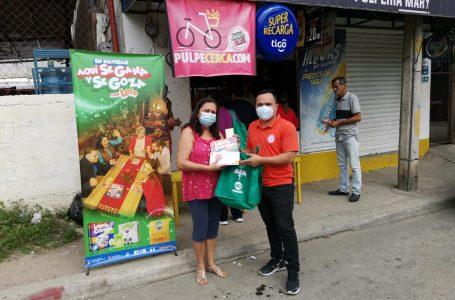 Barrio Barandillas de San Pedro Sula gana y goza con los juegos de LOTO