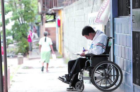 Más de 1.3 millones de personas con discapacidad excluidas y discriminadas en Honduras